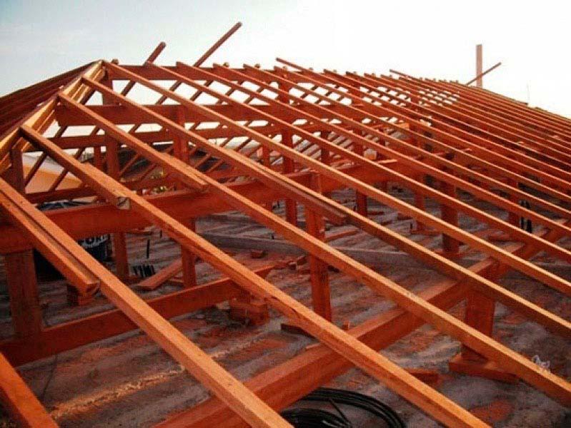 Madeira para telhado em Jundiaí